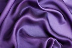 Abstract violet silk background Stock Photos