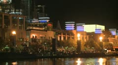 Melbourne Fireshow - stock footage