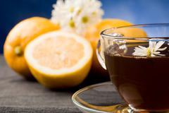 Stock Photo of lemon tea