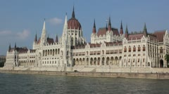 parliament budapest - stock footage