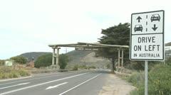 Great Ocean Road Stock Footage