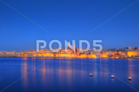 Stock photo of valletta, malta