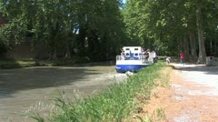 Canal du Midi, France Stock Footage