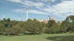 Adelaide Cityscape Stock Footage