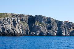marvellous sea - tuscan archipelago - giannutri - stock photo