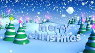 Stock Photo of merry christmas landscape 5