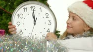 Christmas Countdown Stock Footage