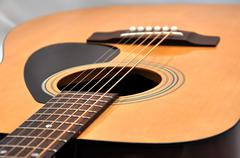 Stock Photo of acoustic guitar