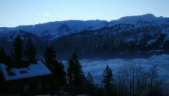 Bernese Alps, Switzerland Stock Footage