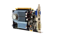 video card - stock photo