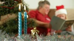 Christmas at grandma's House - stock footage