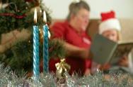 Christmas at grandma's House Stock Footage