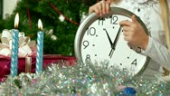 Last Seconds Before Christmas Stock Footage