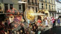 Venice Masks Stock Footage