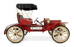 Stock Photo of antique car 1910
