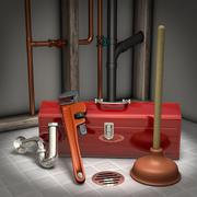 Stock Illustration of plumbing