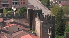 Castelfranco, Italy Stock Footage