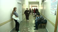 Stock Video Footage of people in hospital corridor