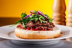 Stock Photo of light burger