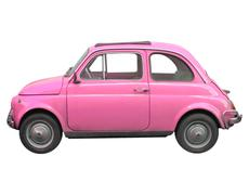 Fiat 500 car Stock Photos