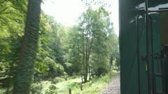 Schmalspurbahn Stock Footage