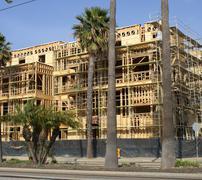 Urban Development Real Estate Building Project in Progress - stock photo