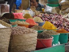 AFRICAN SPICE MARKET Kenya, Africa Stock Photos