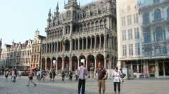 Brussels Stock Footage