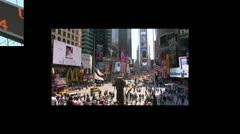 New York Impressionen - stock footage