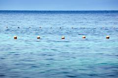 ocean buoys - stock photo