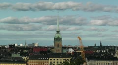 Stockholm Downtown 62 Gamla Stan Stock Footage