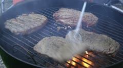 Steaks Stock Footage