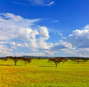 Kenyan landscapes Stock Photos