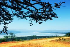 kenyan landscapes - stock photo