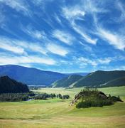 altai - stock photo