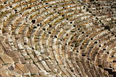 Stock Photo of roman amphitheatre in turkey , myra