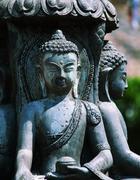 Buddhas statye Stock Photos