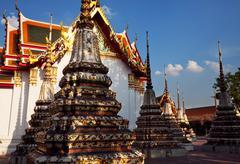 Stock Photo of emerald temple