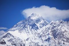 Mount peak everest Stock Photos