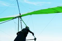 hang-glider - stock photo