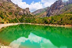 Stock Photo of mountain lake