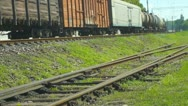 Stock Video Footage of Freight train