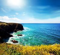 Stock Photo of sea coast
