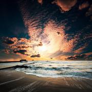 Stock Photo of sea sunset