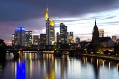 Stock Photo of frankfurt skyline