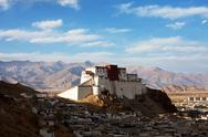 Stock Photo of shigatse monastery in tibet