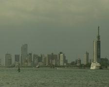 Lagos Skyline 2 Stock Footage