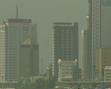 Nigeria Lagos Skyline 5 Stock Footage