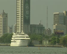Nigeria Lagos Skyline 6 Stock Footage