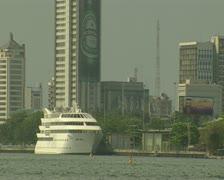 Nigeria Lagos Skyline 6 - stock footage